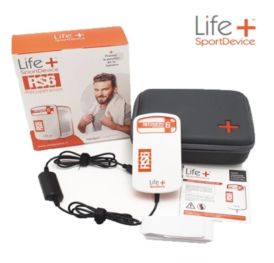 Dispositif français Life+SportDevice pour la récupération musculaire