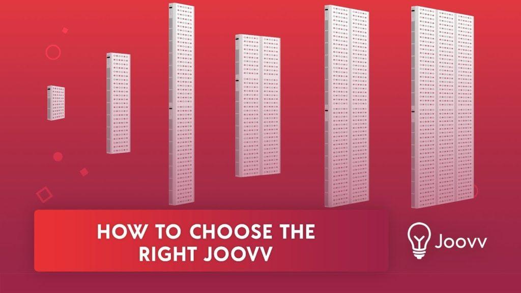 Panneaux LED Joovv pour thérapie par lumière rouge