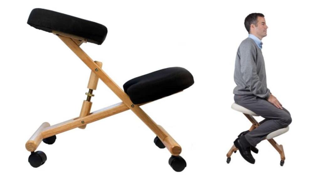 Exemple de chaise à genoux