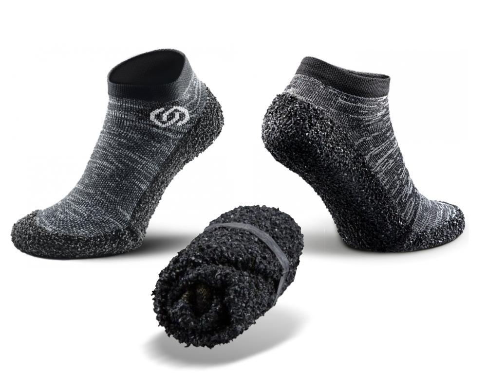Les Skinners, des chaussettes-chaussures minimalsites